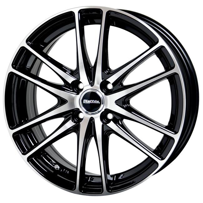 アウトレット 18年製造 国産 スタッドレスタイヤ 14インチ ヨコハマタイヤ アイスガード 5 プラス IG50+ ig50plus 軽自動車 155/65R14 LW-03 4.5J +45 ブラックポリッシュ