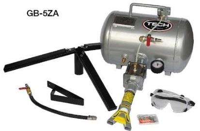 TECH オートマチックビードブースター GB-5ZA テック プロ用 引っ張りタイヤ 脱着機 脱着工具 タイヤスタンド 付き DIY 手組 スタンス ヘラフラ 引っ張り