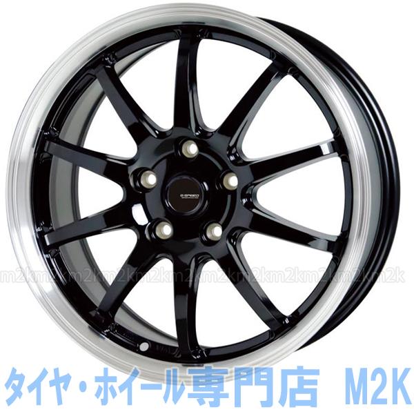 軽量 G.speed P-04 15インチ 5-100 スタッドレスタイヤ ホイール 4本 セット 175/65R15 新型 シエンタ 170系