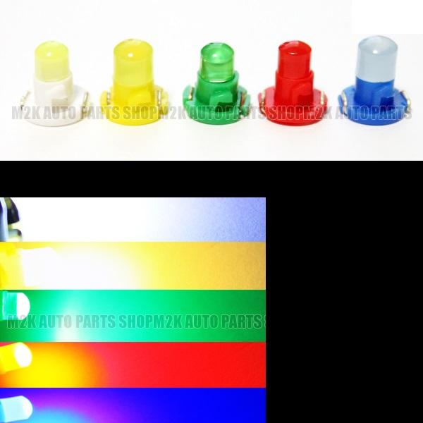 メール便 送料込み 汎用品 選べる T3 T4.2 選べる LED T4.2 T3 エアコン メーター スイッチ インジゲーター ポジション 球 超拡散 全面発光 COB タイプ ホワイト イエロー グリーン レッド ブルー 汎用品 2個 サーフ パジェロ N-ONE イプサム スペイド ヴィッツ シルビア ムーブ インプレッサ エスティマ