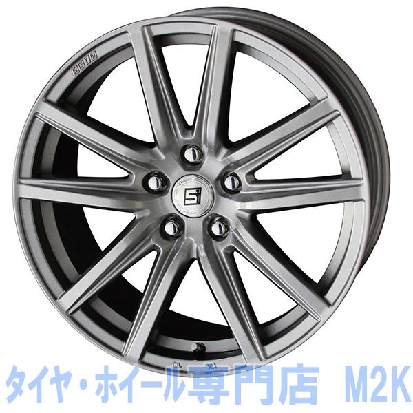 業販価格 VRX スタッドレスタイヤ 195/65R15 BS ホイール 4本 5-100 プリウス CT200 ウィッシュ ザイン シルバー 15インチ