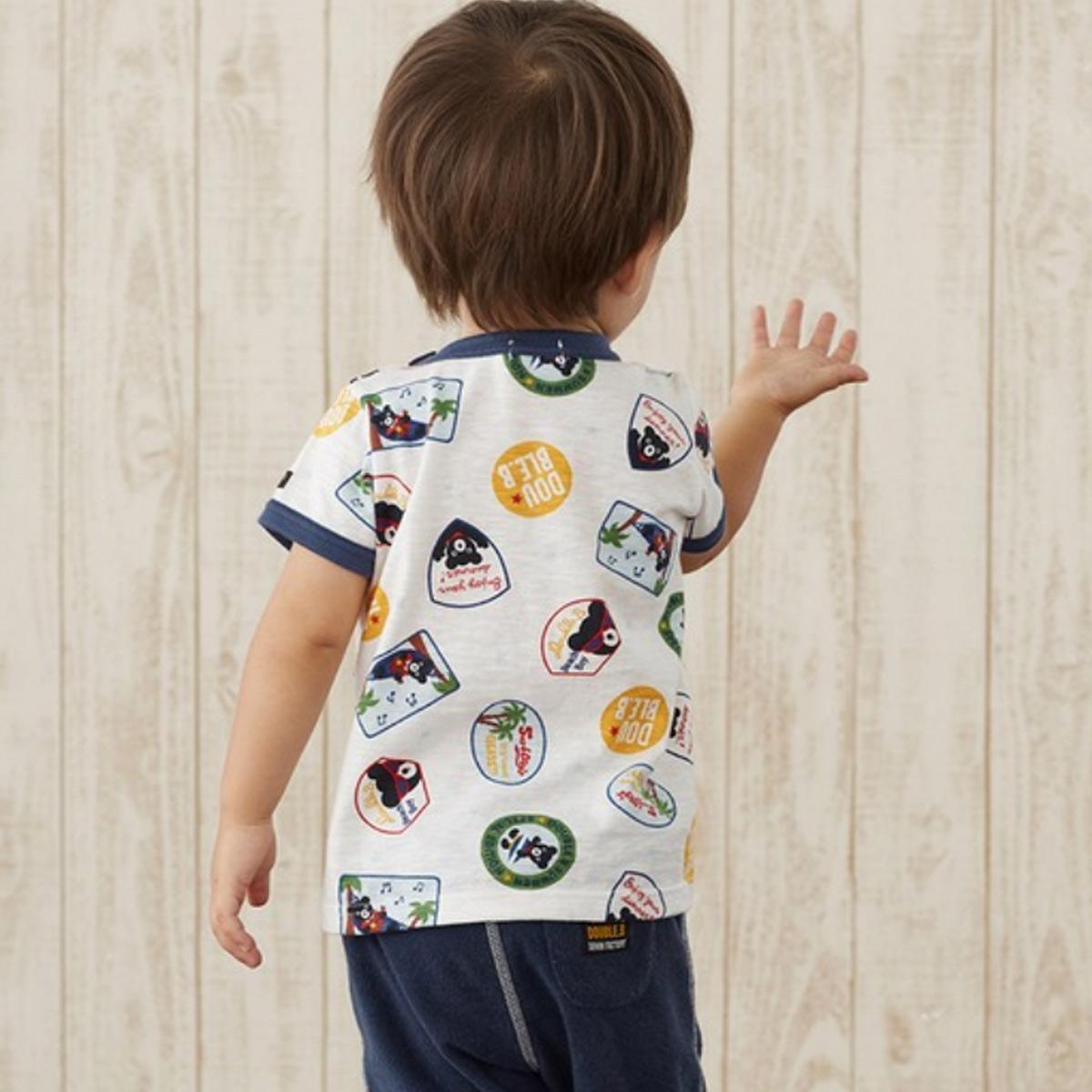 【メール便OK】【DOUBLE B ダブルビー】半袖Tシャツ(110cm・120cm・130cm・140cm)ミキハウス