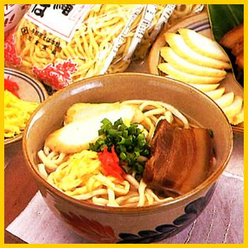 【沖縄そば】八重山そば400g×2袋 │三倉食品│