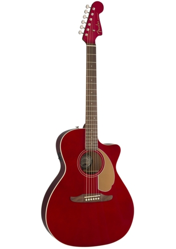 Fender Acoustic Guitars Newporter Player Candy Apple Red