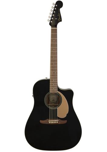 Fender Acoustic Guitars Redondo Player Jetty Black