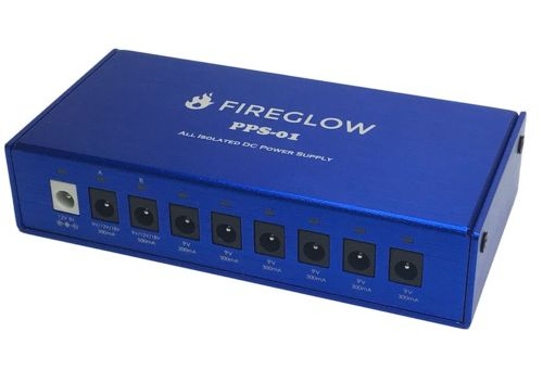 FIREGLOW PPS-01 [All Isolated Pedal Power Supply]