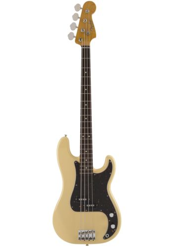 Fender Made In Japan Traditional 60s Precision Bass Limited Run Vintage White