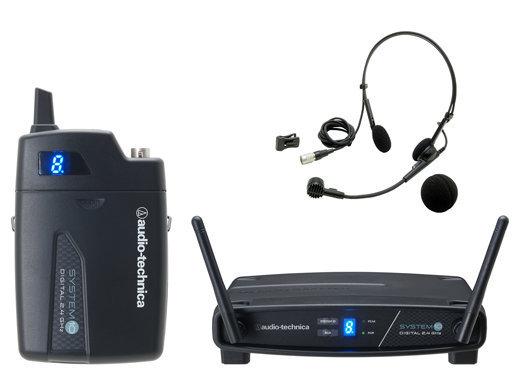 audio-technica ヘッドウォーンマイクロホンワイヤレスシステム ATW-1101/H