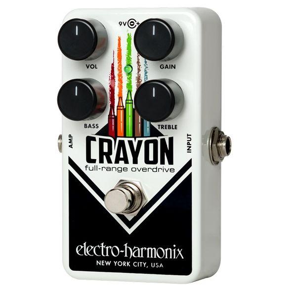 electro-harmonix フルレンジ・オーバードライブ Crayon