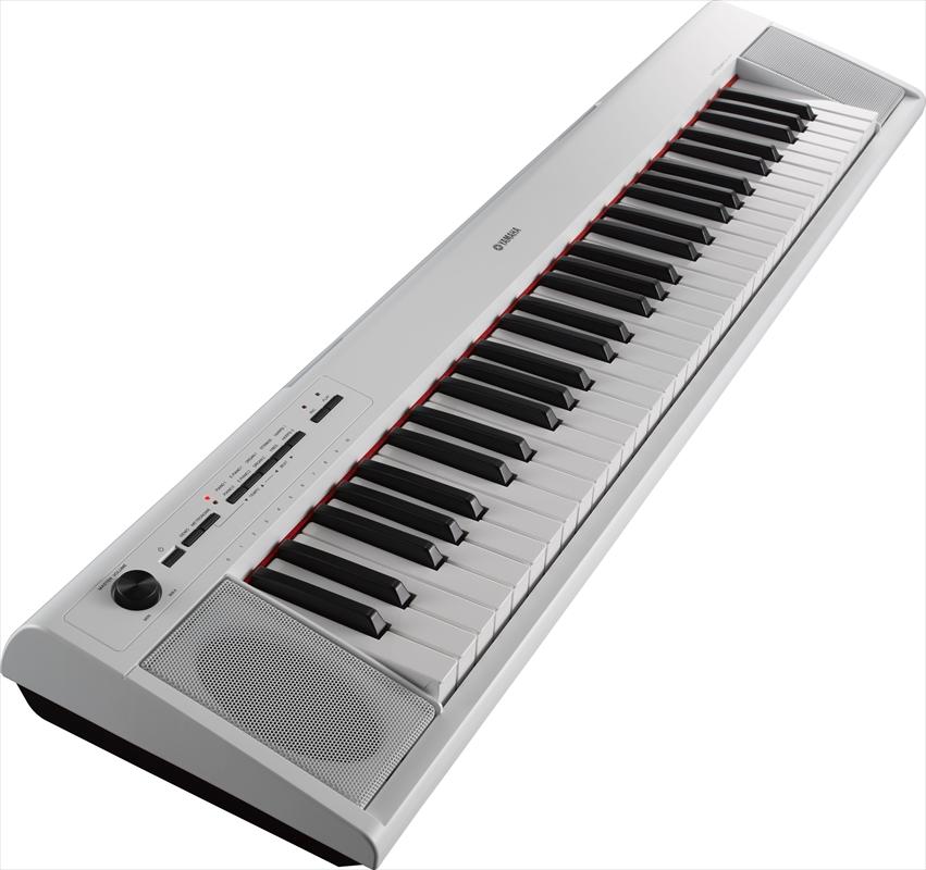 YAMAHA piaggero(ピアジェーロ) NP-12WH ホワイト(61鍵盤)