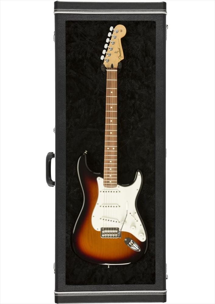 Fender Guitar Display Case Black Tolex