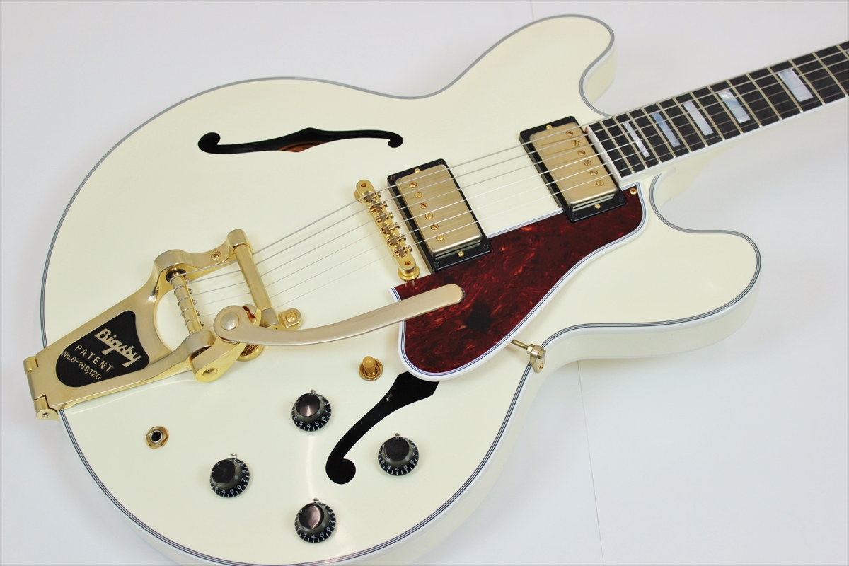Gibson Memphis ES-355 Classic White VOS Bigsby 【決算特価】