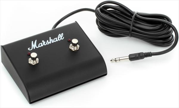 Marshall LED付き2連フットスイッチ PEDL91003