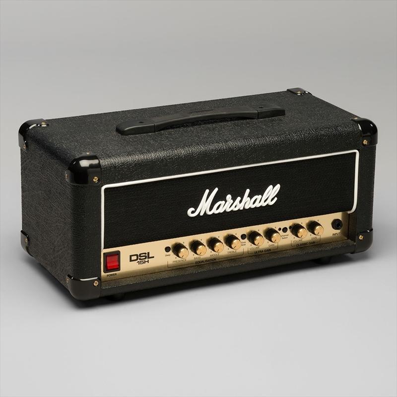 Marshall 15W 2ch バルブヘッド DSL15H