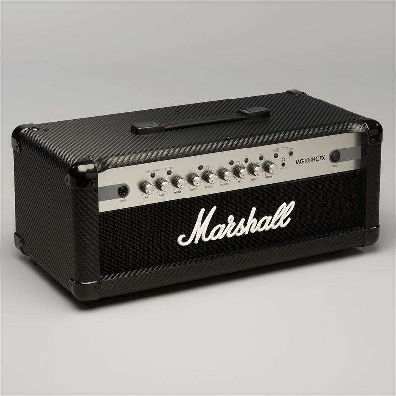 Marshall 100W 4ch デジタル・エフェクツ &プログラマブル・ヘッド MG100HCFX
