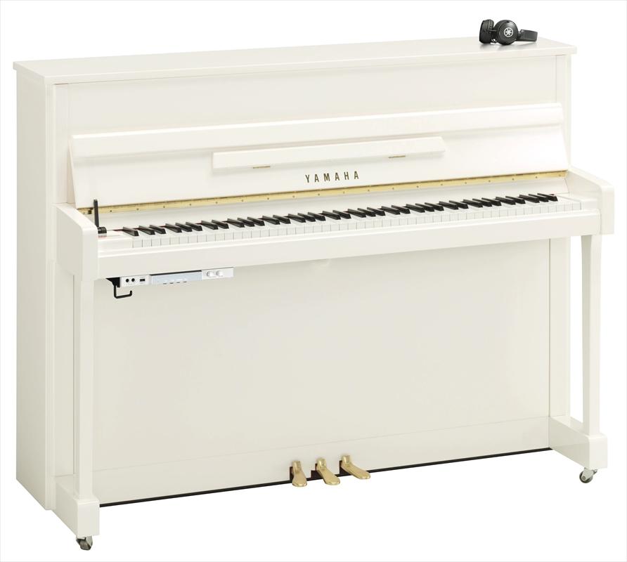 【送料別・代引不可】YAMAHA サイレントピアノ b113PWH-SC2
