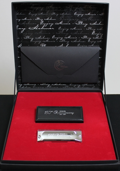 HOHNER 150TH Anniversary Chrom Model M20071/20