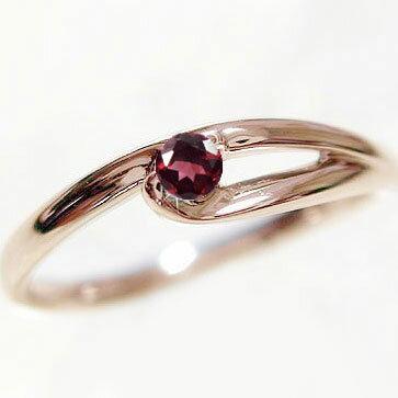 選べる 誕生石 リング ピンクゴールドk10 天然石 宝石 カラーストーン 指輪 K10pg【送料無料】