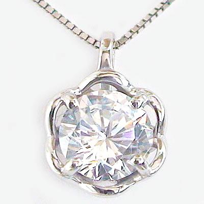 プラチナ 大粒 ダイヤモンドネックレス 一粒 ダイヤ 0.5ct 鑑定書付 F 送料無料 記念日 毎日激安特売で 営業中です 結婚ブライダル特集 SI1-Excellent