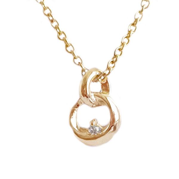 ダイヤモンドネックレス ピンクゴールドk10 贈り物 プレゼントにおすすめ ピンクゴールド K10 ダイヤモンド ハイクオリティ ダイヤ 40%OFFの激安セール 送料無料 ネックレス 0.01ct レディース ペンダント K10pg