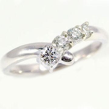 ダイヤモンドリング プラチナ 指輪 PT900 指輪 ダイヤ0.36ct 婚約指輪 結婚記念日のプレゼントに最適【送料無料】