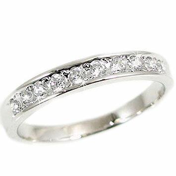 ダイヤモンドリング プラチナ 一文字 指輪 SIクラスダイヤモンド10石使用 Pt900 ダイヤ 0.20ct 結婚記念日 婚約指輪に【送料無料】