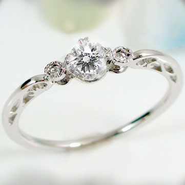 Ma38 Engagement Ring プラチナエン Ring Diamond 0 2 Ct F Si 1