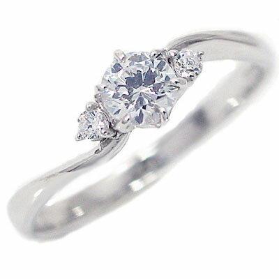 婚約指輪 エンゲージリング ダイヤモンド 0.3ct D VVS1 3EX HC 鑑定書付 プラチナ900 指輪 0.04ct PT900 脇ダイヤ 送料無料 営業 ダイヤ 返品送料無料 プロポーズ