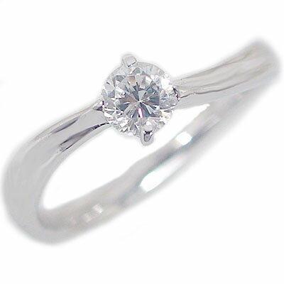 婚約指輪 エンゲージリング ダイヤモンド 0.3ct D VS1 3EX H&C 鑑定書付 指輪 プラチナ900 PT900 ダイヤ指輪【送料無料】