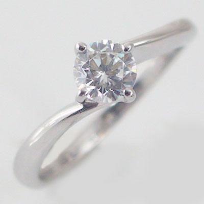 婚約指輪 プラチナ エンゲージリング ダイヤモンド 0.5ct D VS1 EX 鑑定書付 4本爪 ダイヤリング Pt900【送料無料】