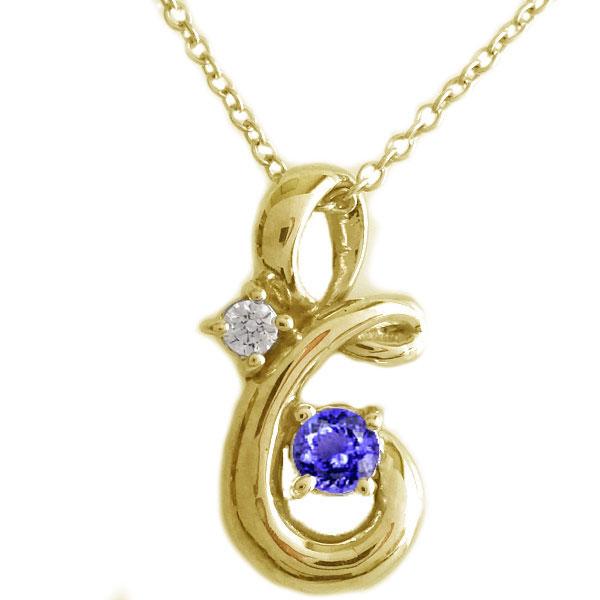 12月誕生石 タンザナイト ネックレス イエローゴールドk18 割引も実施中 ゴールド ペンダント 完全送料無料 K18yg K18 ダイヤモンド 送料無料