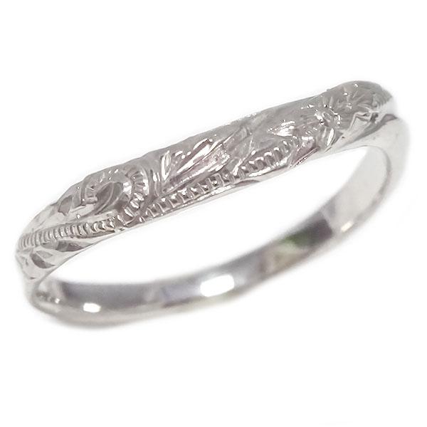 ハワイアンジュエリー プラチナ リング Pt900 指輪【送料無料】