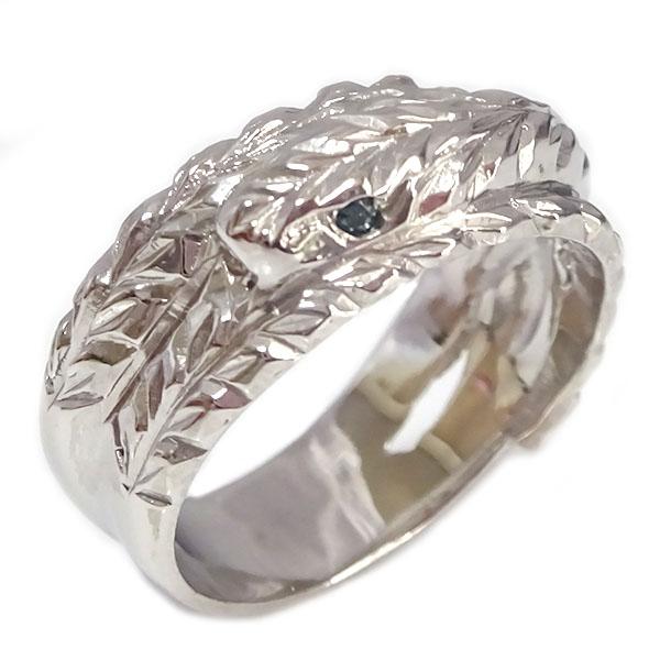ハワイアンジュエリー 幸福のスネークリング (訳ありセール 格安) ホワイトゴールドk10 定番から日本未入荷 白蛇 贈り物ギフトプレゼント 自分へのご褒美に 結婚ブライダル特集