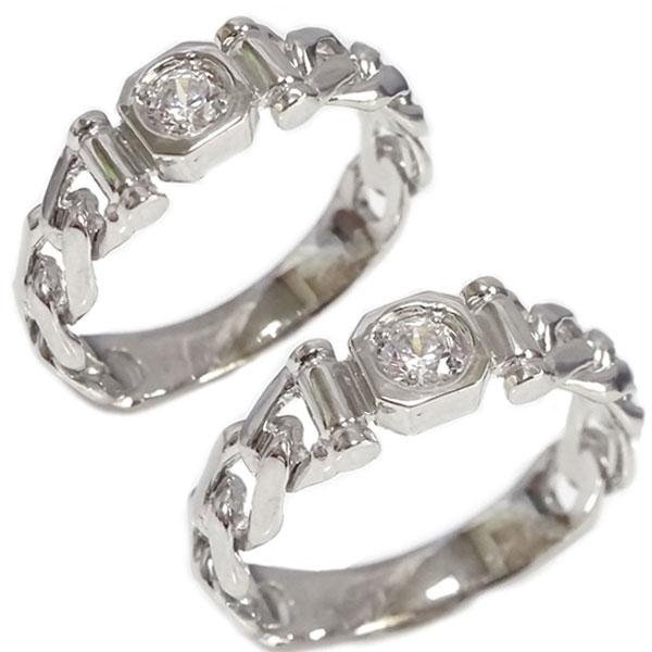 ペアリング ホワイトゴールドk18 ダイヤモンド マリッジリング 国内送料無料 結婚ブライダル特集 訳あり 結婚指輪