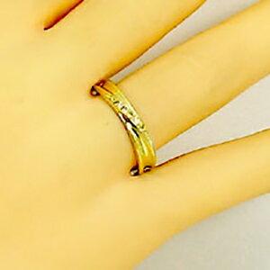 ゴールドK18 結婚指輪 ペアリング マリッジリング ダイヤモンド ペア2本セット K18 指輪 ダイヤ 0 02ct 送料無料8OvmnwyNP0