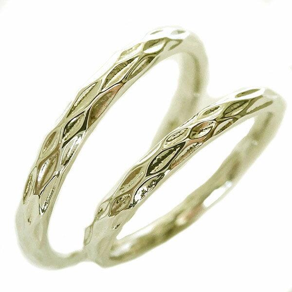 2人の絆を深めるペアリング お歳暮 イエローゴールドk10 結婚指輪 マリッジリング 全周に模様 ペア2本セット 送料無料 K10 オリジナル ペアリング
