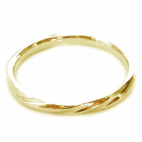 結婚指輪 ゴールド K18 マリッジリング ペアリング ペア2本セット K18yg 送料無料ZTkiOPXu