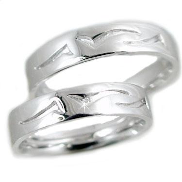 プラチナ ペアリング 結婚指輪 マリッジリング ダイヤモンド 指輪 ペア 2本セット Pt900 ダイヤ 0.01ct