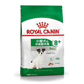 【正規品】 ロイヤルカナン ミニ アダルト 8+ (小型中高齢犬用 体重10kg以下・8歳以上) 8kg
