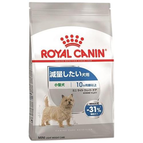 【正規品】 ロイヤルカナン ミニ ライト ウェイト ケア 小型犬用 減量したい犬用 生後10ヶ月以上 4kg