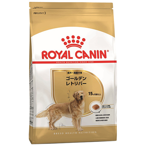 【正規品】 ロイヤルカナン ゴールデンレトリバー (成犬・高齢犬用 生後15ヶ月以上) 12kg