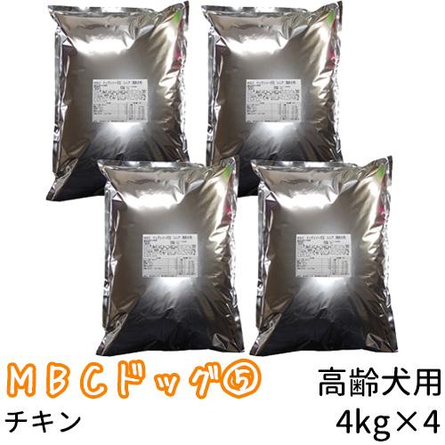 【リパック品】 MBC ドッグシリーズ5 シニア(高齢犬用) 16kg(4kg×4袋)