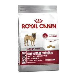 【正規品】 ロイヤルカナン ミディアム ダーマコンフォート (健康で快適な皮膚 中型犬用 生後12ヵ月以上) 10kg