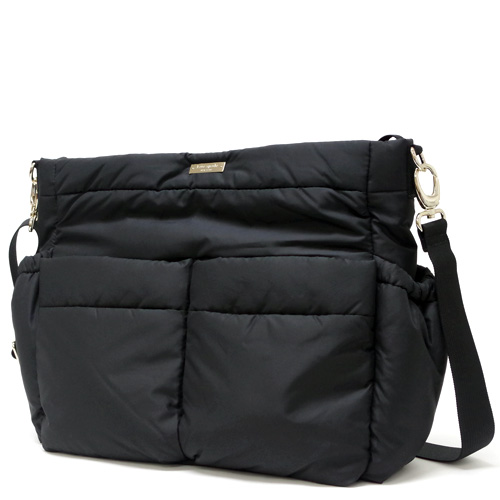Kate Spade Holland Walk Quilted Adamson Baby Bag Diaper Pxru5204 001 Black Outlet