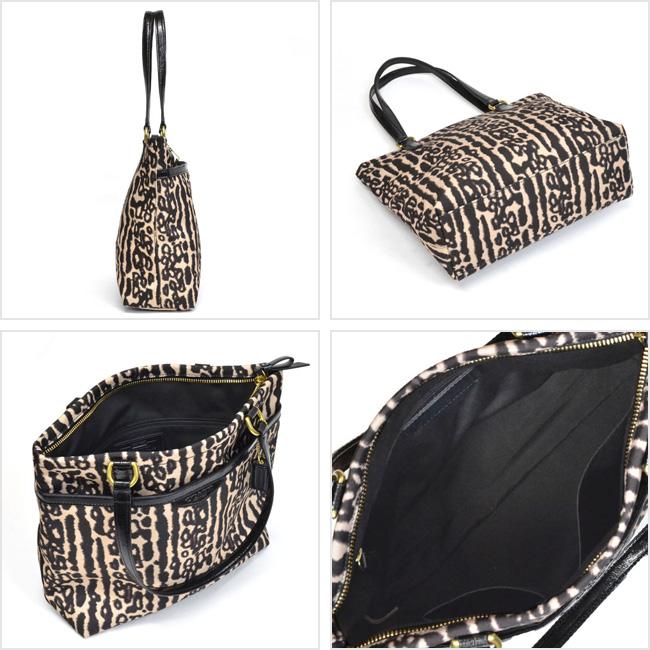 4518a7f1d413 ... Coach /COACH Leopard tote bag outlet F31901 B4/M2 (black multi) ...