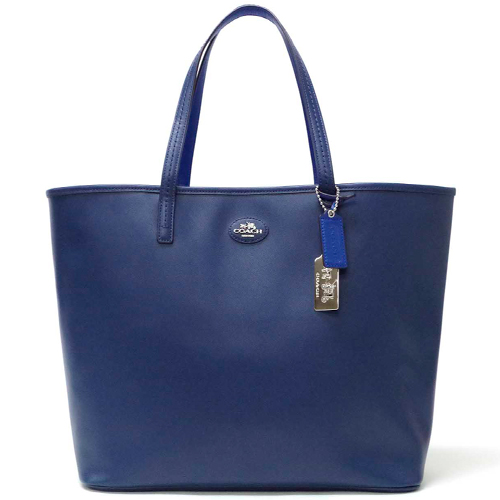 5404457d8e3 macalpine: Coach /COACH Metro leather tote bag 32701 SVD9Z (Navy ...