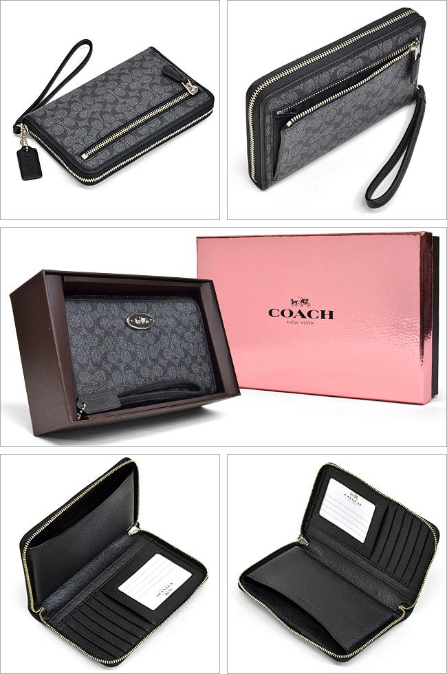 教练/COACH embosudoshigunecha PVC全部情况63447 SV/CQ(木炭)