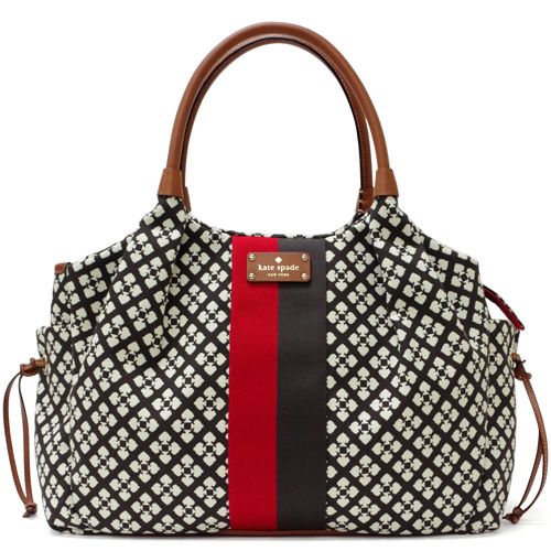 Kate Spade Classic Stevie Baby Bag Diaper Wkru1523 215 Chocolate X Multi Outlet
