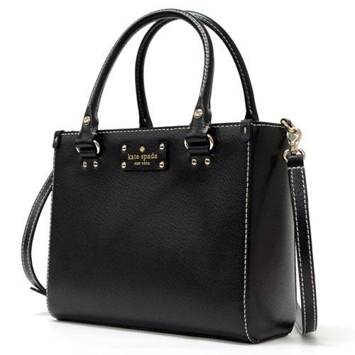 Kate Spade Wellesley Small Quinn Shoulder Bag Wkru2723 001 Black Outlet
