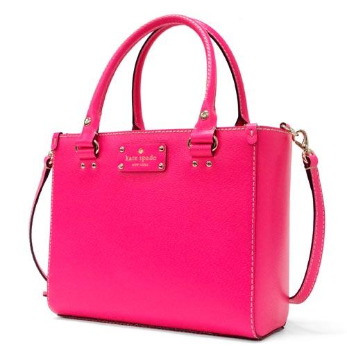 Alpine Kate Spade Wellesley Small Quinn Shoulder Bag Hot Pink